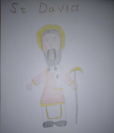 Elliot's St David sketch