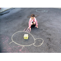 Making marks to represent numbers
