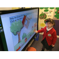 Learning numbers on the IWB