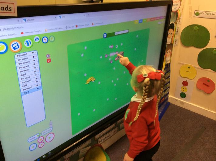 Using JIT turtle to learn direction