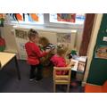 Having fun reading stories