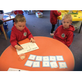 How clever you are writing numbers