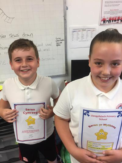 Well done on your awards you two!!