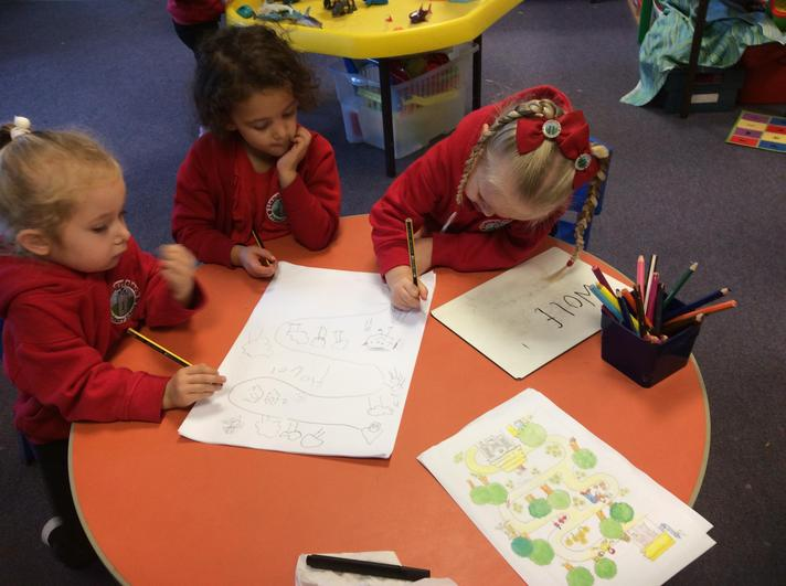Drawing a map for Goldilocks is fun