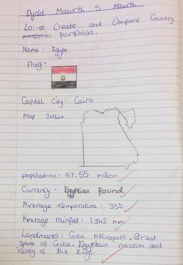 Roxy's Egyptian Country Profile