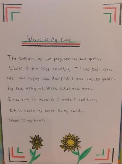 Morgan's Wales is my Home Poem