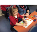 We used shapes to create a Castle  using paint
