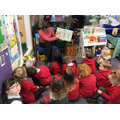 Finding out about castles through stories
