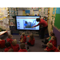 Learning about features of a castle