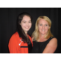 Becky Moore - ex pupil and Welsh champion gymnast