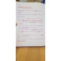 Lovely writing