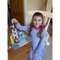 Build a house with Lego.