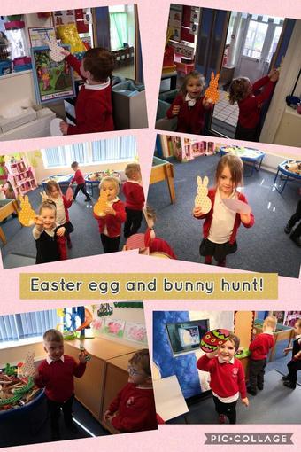Bunny hunting!