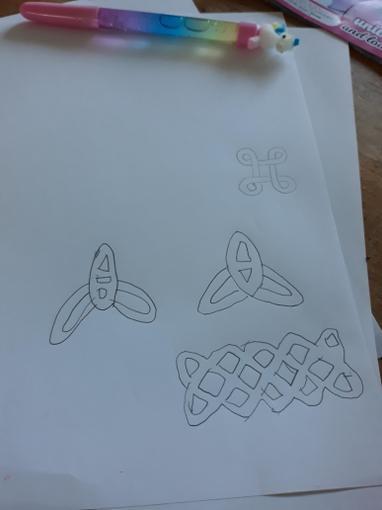 Gracie's Celtic designs