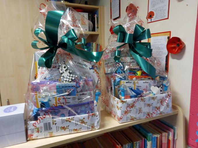 Send in your raffle tickets by 11th Dec