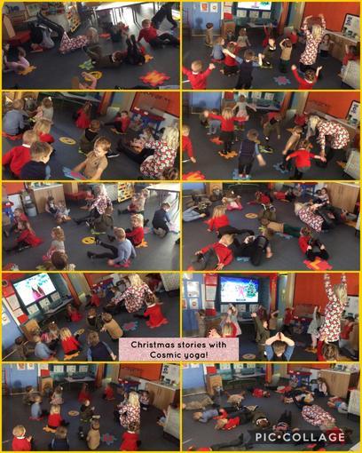 Christmas yoga stories!