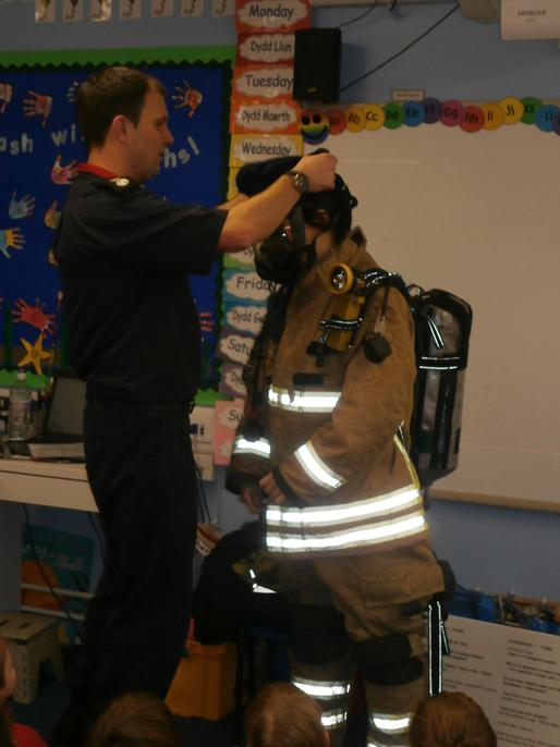 Then the breathing apparatus