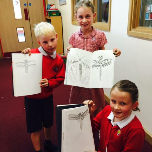 We are so proud of our drawings.