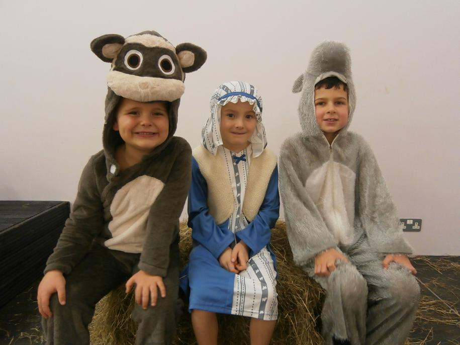 The Donkeys and Innkeeper