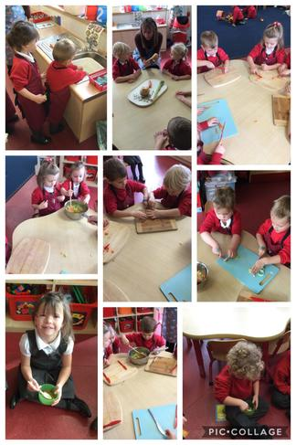 PM Children making vegetable soup 🥕🥔😋