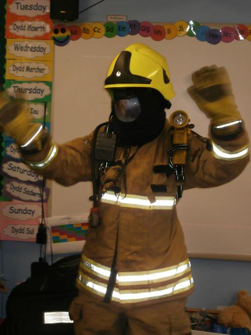 Miss Miles the firefighter