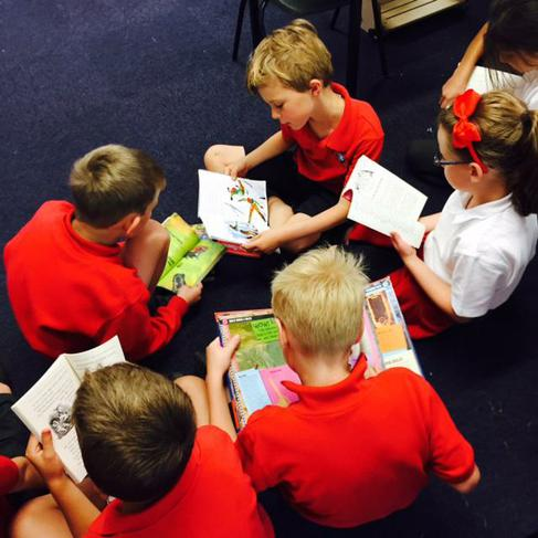 We love exploring new books.