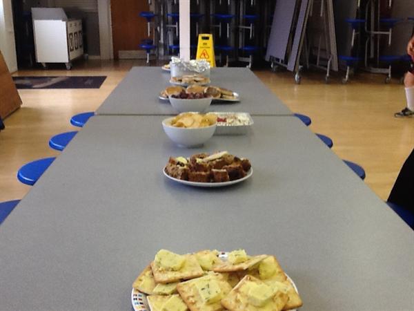Welsh buffet