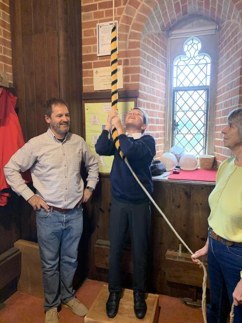 Bell ringing at the Church