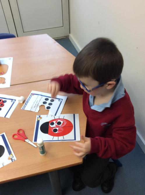 Counting and cutting skills