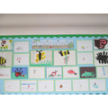 Early Years have been learning about minibeasts