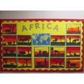 Year 1 learnt about Africa!