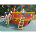 Our new pirate ship!