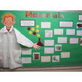 Year 2 have been studying 'Materials'