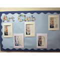 Year 2 have had fun in Art Club