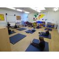 We have been enjoying yoga