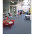 Early Years area and lego table