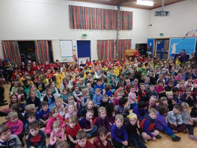 Our Children in Need rainbow.