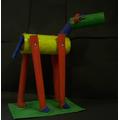 KS 1 Creative Arts - Cylinder Horse!