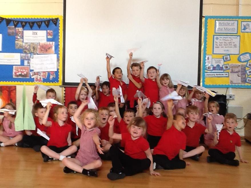 Our paper aeroplanes