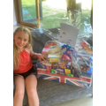 Elsie raised £50 to spend on treats for NHS staff!