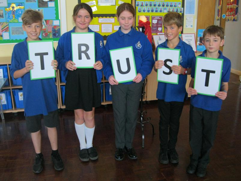 Trust- Supporting Mrs South