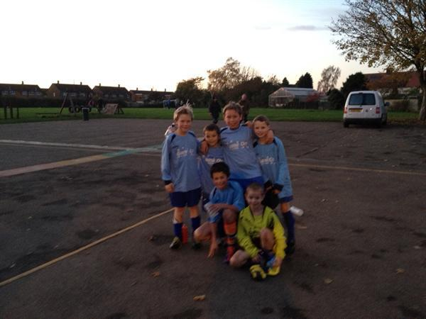 School Football against Wingrave