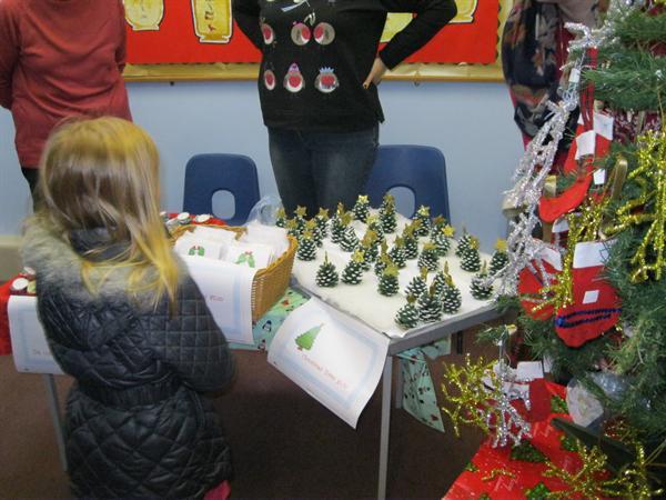 Christmas Fair- Class 1 stall