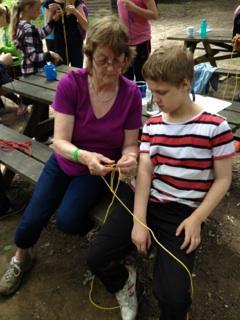 Survival Bracelet Making