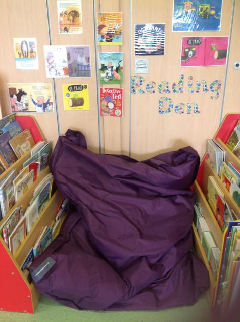 Our reading den.