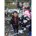 Snow everywhere!