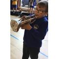 Year 4 trumpeter