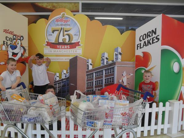 Pupils Shopping for Cereals!