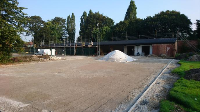 Week 5 - Fencing will be installed to MUGA area