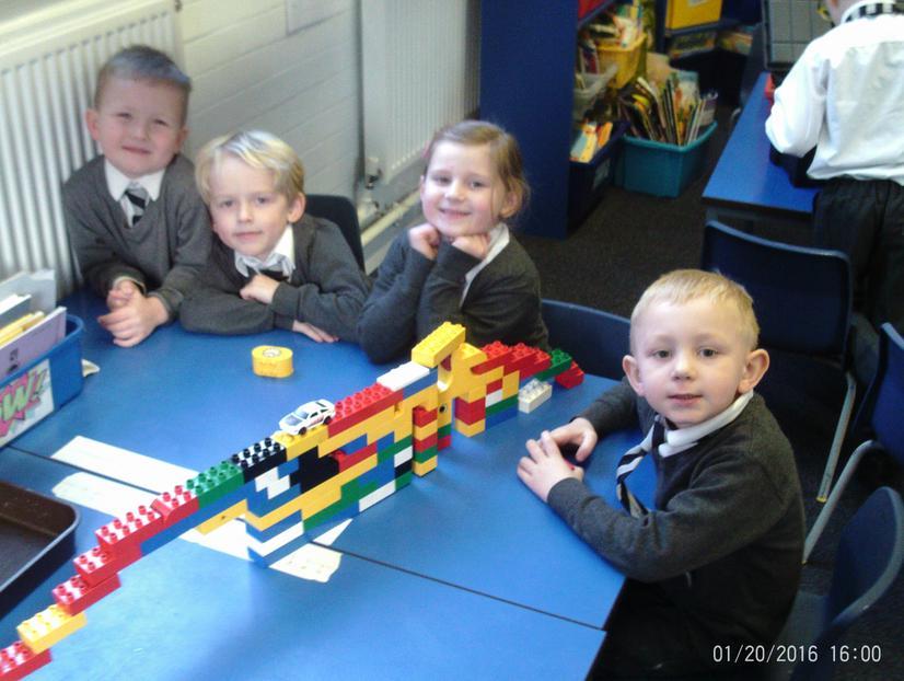 Our Construction Bricks Bridge